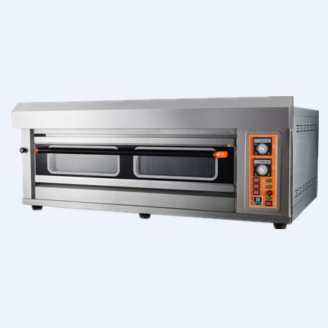 Real Commercial Baking Oven Machine Manufacturer Large customized 1 deck 4 trays Used Cakes Bakery Gas Oven for sale