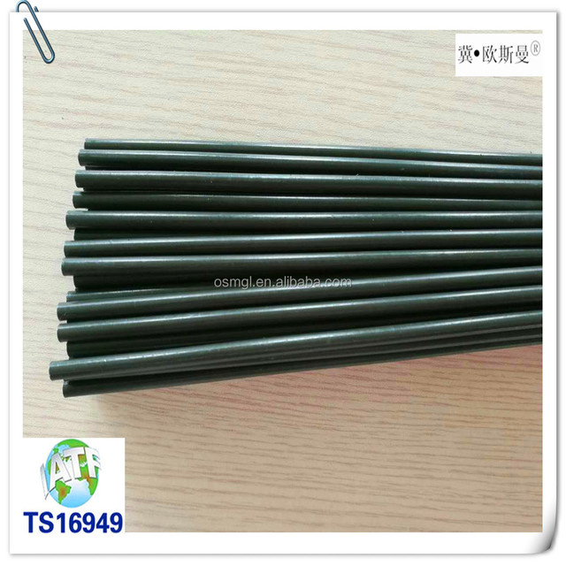 China Supplier 4.76*0.7 mm Double Wall Steel PVF Coated Tube with Zinc plating