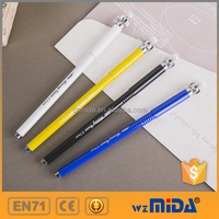 smooth writing metallic gel ink pens with crown cap MD-Z9005