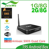 2015 New Arrival Patented T95 1G/8G Android 5.1 S905 Quad Core 1+8GB Powerful TV Box Best-selling In U.S S905 Quad Core TV Box
