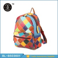 High Quality Fancy Design Leather Backpack Manufacturer