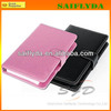 6 colors 10.1 tablet leather case with keyboard