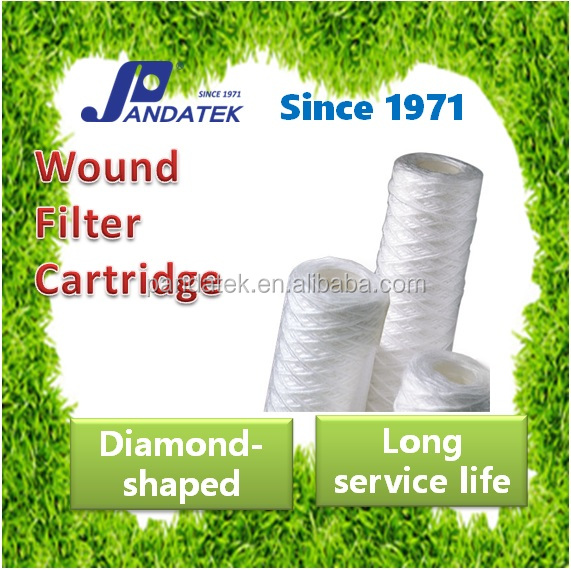 Polyester Supply Water Filration String Wound Polypropylene Filter Cartrdige