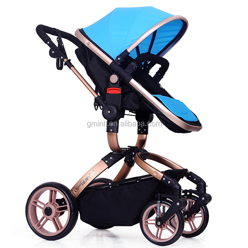 Most comfortable stroller/fashion design and simple folding pram with canopy/multifunctional cheap baby stroller