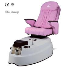Electric Pedicure Chair / Salon Furniture used electric massage table deluxe massage chair TKN-3SPA3V/R
