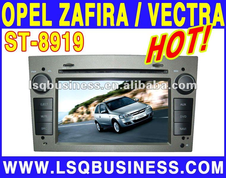 LSQ Star Cheap Double Deck Car DVD Player for Opel ZAFIRA 2005-2011