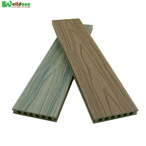 affordable anti uv co-extrusion wpc wood composite decking covering