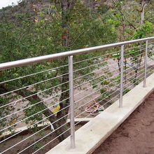 Terrace Cable Railings Balcony Steel Grill Designs