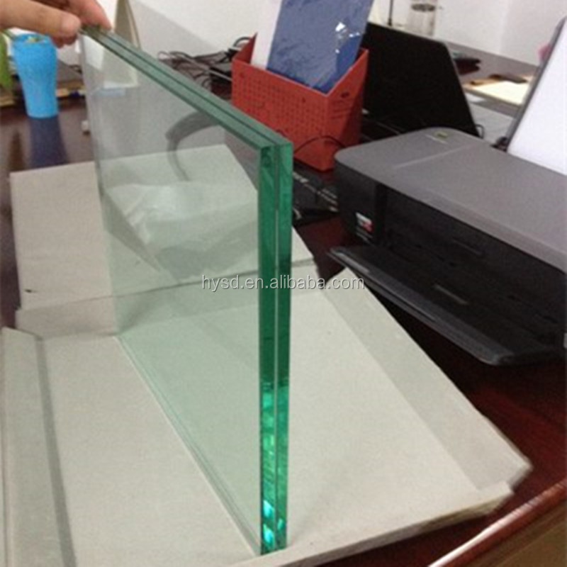 Beijing Haiyangshunda Unbreakable Glass m2 Price For Sale/ Green Laminated Glass Sheet Prices