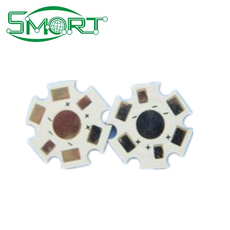 Smart Bes~Mirror aluminum pcb for spotlight cob foot print,LED round circuit board aluminum pcb