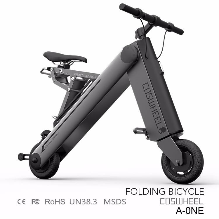 2016 best selling mini electric pocket bike / folding scooter /lithium battery foldable bike