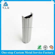 OEM ODM Custom Extruding LED Fluorescent Lamp Heat Sink Aluminum Profile