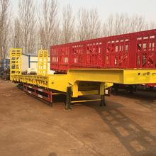 Multi-Axle Hydraulic System Factory Direct Lowbed Truck Transport Semi Trailer for sale