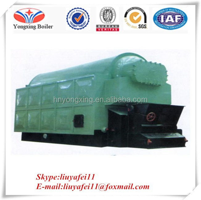 Various fuels can be used Steam output biomass steam boiler wood pellet biomass saturated boiler
