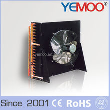 YEMOO H type air condenser fin type mini air cooled condenser for small cold room