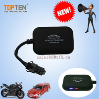 New mini gps car/vehicle tracker and alarm system for motorcycle/car MT09
