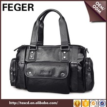 FEGER men simple style portable overnight bag for travel