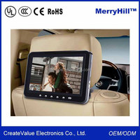 Small LCD Multimedia Player 9/10.1/12.1/15/17/19 inch LED Screen Taxi Car Advertising Screen