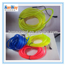 hot sales decoration multi-color light EL wire/ el wire electroluminescent wire for Christmas/party