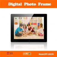 bulk large size 19 inch digital picture frame with auto play and auto loop