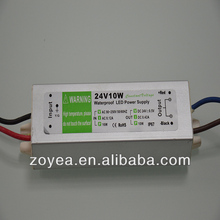 Waterproof 24v 350ma led power supply with CE ROHS