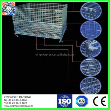 Metal Storage cage/wire mesh container for pallet storage