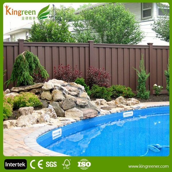 Cool summer swimming pool fence with post easy to