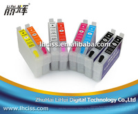 T0591-T0599 refillable ink cartridge with auto reset chip for Epson Stylus Photo R2400 printer