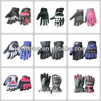durable leather motorcycle gloves for sale