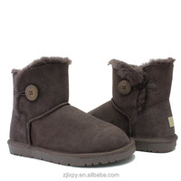 Boys australia genuine leather sheepskin lined boots