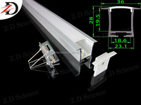 Aluminium Alloy Slim Linear Lighting LED Fixture 18W LED Linear light Recessed