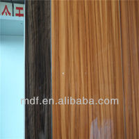 2014 high glossy melamine/uv mdf board
