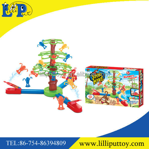 2014 Plastic Shooting Jumping Monkey Game,Educational Shooting Jumping Monkey Game,Shooting Jumping Monkey For Kids