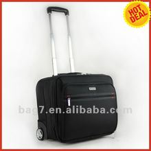 laptop bag with trolley strap computer trolley case for business men