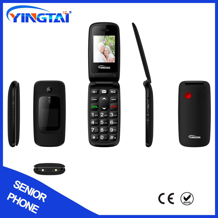 T16 sos function cell phones for seniors