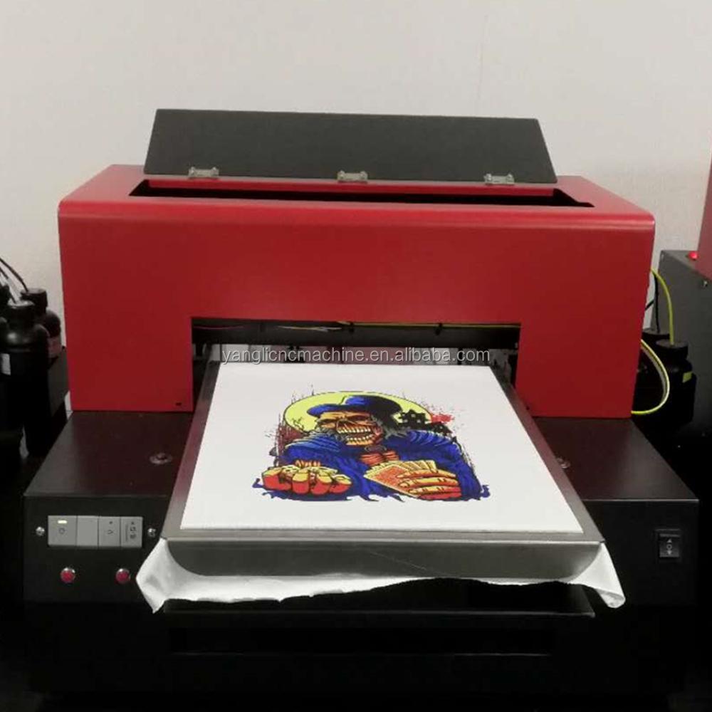 China Best Quality Digital A3 T Shirt Printing Machine Price 3d Uv
