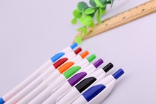 Cheap and promotional advertizing plastic ball pen with customer logo