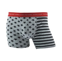 Men's cotton Boxers jockey underwear Mens brand underwear