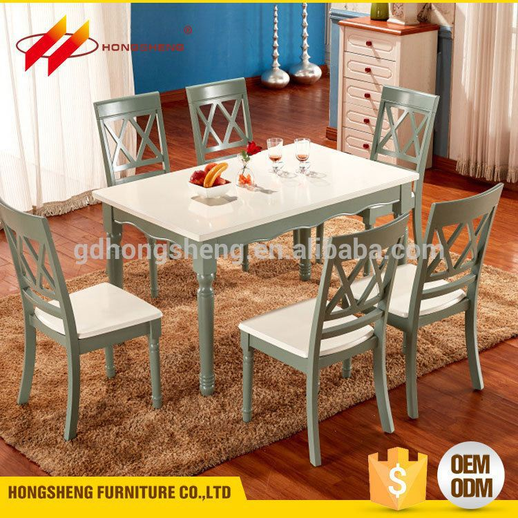 egypt most popular furniture solid wood light color dining table