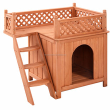 Customized indoor or outdoor design wooden dog house pet cage for sale