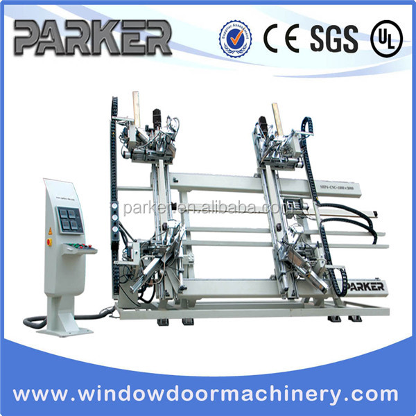 PVC Win-Door Machine CNC Vertical Four-point Welding Machine
