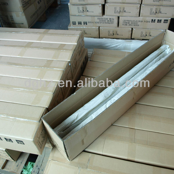 600mm, 1200m, 2400mm, factory direct sale T8 led tube light housing with top quality