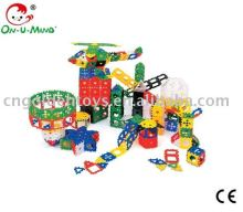 Plastic Educational plastic enlighten brick toys-168pcs