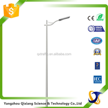 steel pole price galvanized street lighting pole 6m single arm street light pole