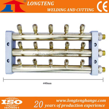 Gas Separation Panel for the CNC Cutting Machine Gas Supply