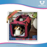 Best Quality Dog Crate Pet Crate,collapsible soft dog crate,foldable fabric pet cage and dog carrier crate