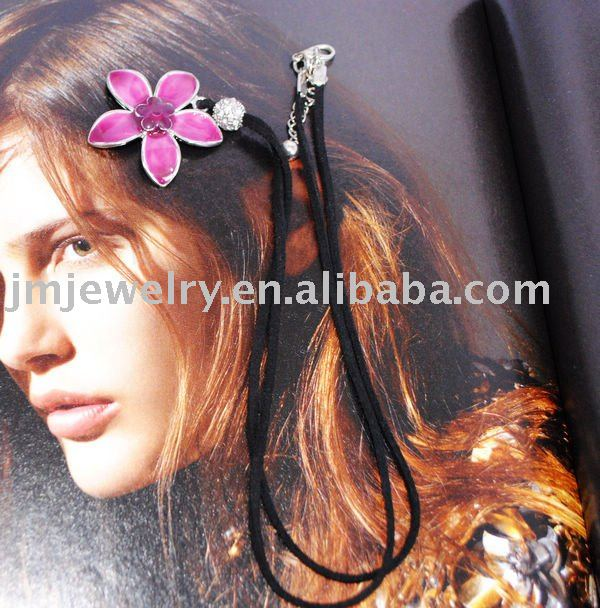 pink flower very cheap fashion jewelry for Adults jewelry necklace , cheap chunky necklace fashion jewelry J.M.N-042