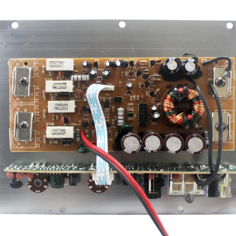 car amplifier in stereo amplifier