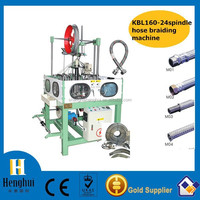 hot sale stainless steel wire PVC water hose braiding machine HH-henghui KBL-24-1-160 in China