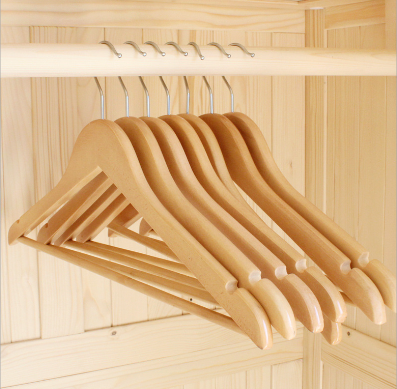 Wholesale Premium Wooden Hangers Suit Hangers